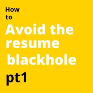 How to avoid the resume blackhole