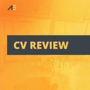 CV Review picture for product