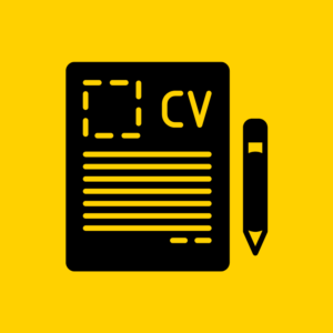 CV basics Black and Yellow