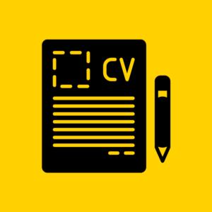 CV basics Black and Yellow