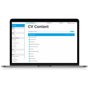 Expert Designer CV Content