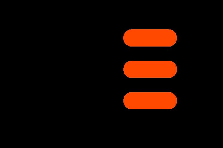 AE Recruitment Black and Orange