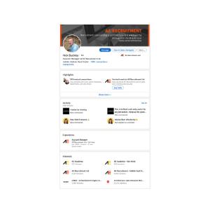 Nick Buckley's LinkedIn Profile
