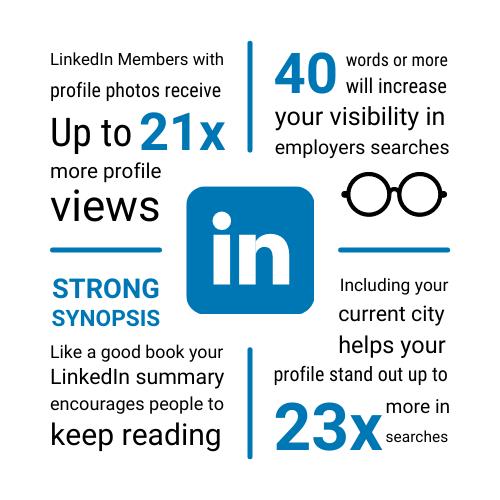 LinkedIn Infographic aligned