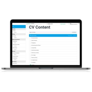 Expert CV Content modules