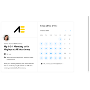 AE Academy 1-2-1 Monthly