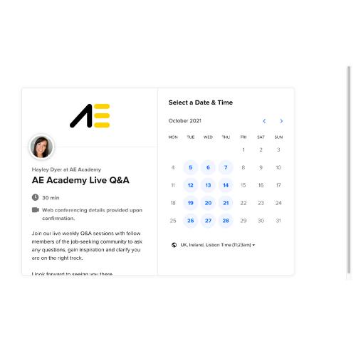 AE Academy Live Q&A